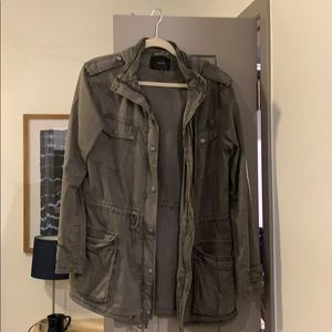 Bought from Aritzia- gray utility jacket